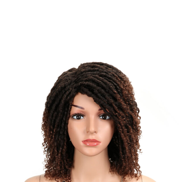Soft Short Synthetic Wigs For Black Women Wigs For White Women 14